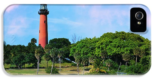 Jupiter Lighthouse IPhone 5 Case by Laura Fasulo