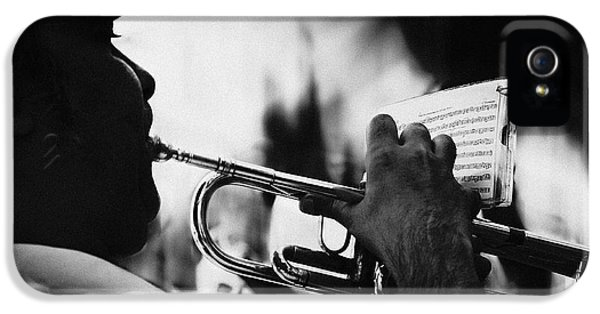 Trumpet iPhone 5 Case - Just Follow My Lead by Rui Correia