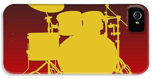 Kansas City Chiefs Drum Set IPhone 5 Case by Joe Hamilton