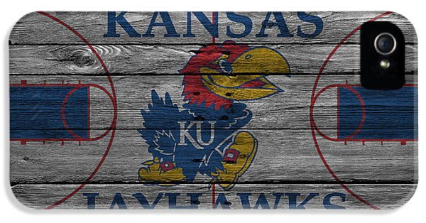 Kansas Jayhawks IPhone 5 Case by Joe Hamilton