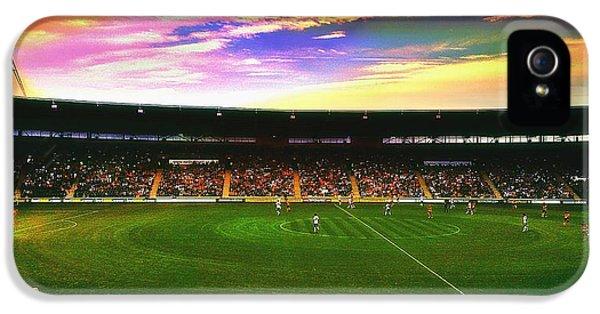 Edit iPhone 5 Case - Kc Stadium In Kingston Upon Hull England by Chris Drake