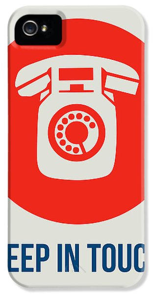 Keep In Touch 2 IPhone 5 / 5s Case by Naxart Studio