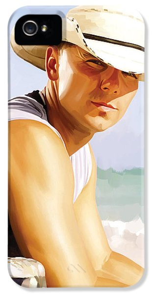 Kenny Chesney Artwork 2 IPhone 5 Case