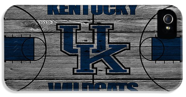Kentucky Wildcats IPhone 5 Case by Joe Hamilton