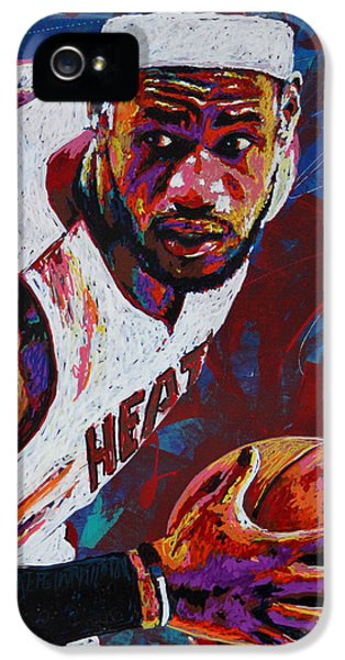 King James IPhone 5 / 5s Case by Maria Arango
