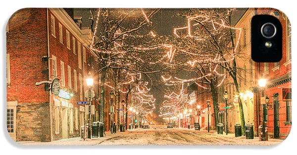 King Street IPhone 5 Case by JC Findley