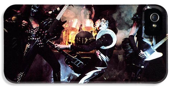 Kiss - Alive! IPhone 5 Case by Epic Rights