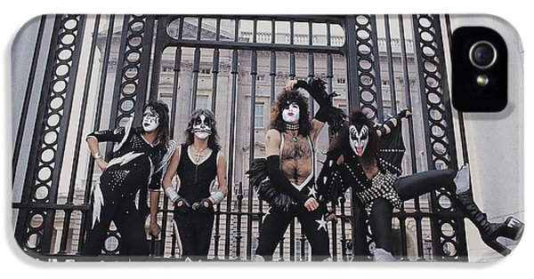 Kiss - Buckingham Palace IPhone 5 Case by Epic Rights