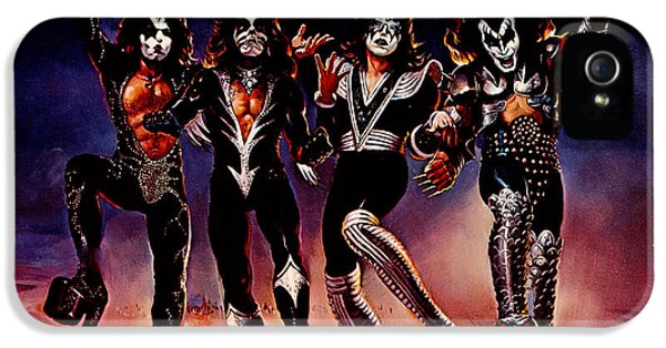 Kiss - Destroyer IPhone 5 / 5s Case by Epic Rights