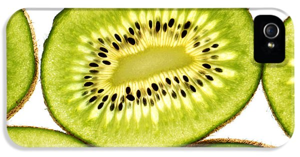 Kiwi Fruit IIi IPhone 5 Case by Paul Ge