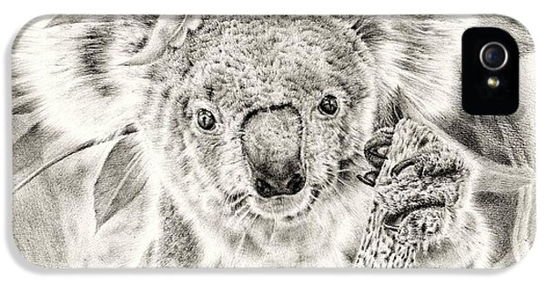 Koala Garage Girl IPhone 5 Case by Remrov