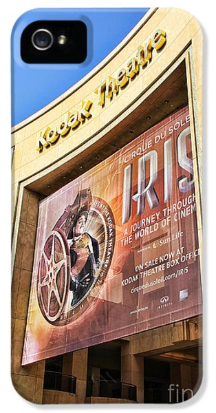 Kodak Theatre IPhone 5 Case by Mariola Bitner