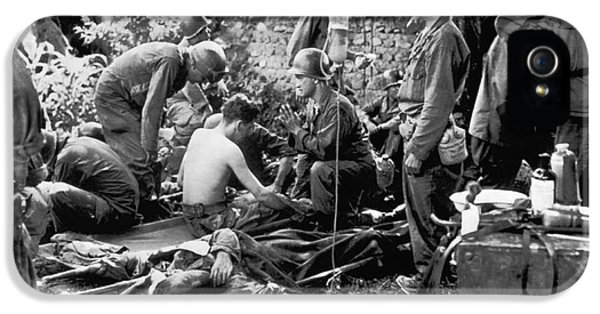 Korean War Wounded IPhone 5 Case
