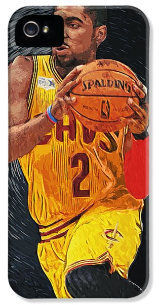 Kyrie Irving IPhone 5 Case by Taylan Apukovska