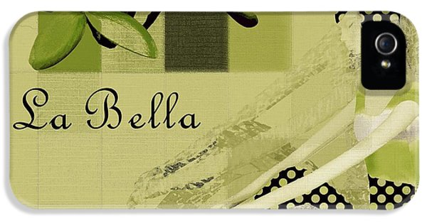 La Bella - Green 01-03 IPhone 5 Case by Variance Collections