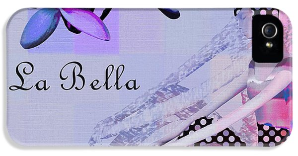La Bella - J647152-04 IPhone 5 Case by Variance Collections
