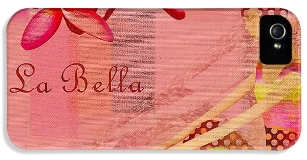 La Bella - Pink - 064152173-01 IPhone 5 Case by Variance Collections