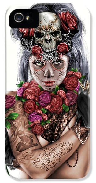 La Calavera Catrina IPhone 5 Case