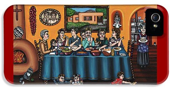 La Familia Or The Family IPhone 5 Case by Victoria De Almeida