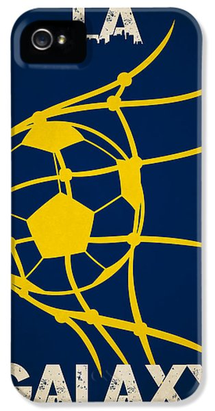 La Galaxy Goal IPhone 5 Case by Joe Hamilton