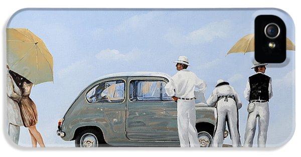 Transportation iPhone 5 Case - La Seicento by Guido Borelli