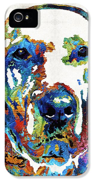 Labrador Retriever Art - Play With Me - By Sharon Cummings IPhone 5 Case