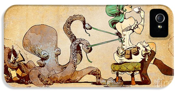 Lacing Up IPhone 5 Case by Brian Kesinger