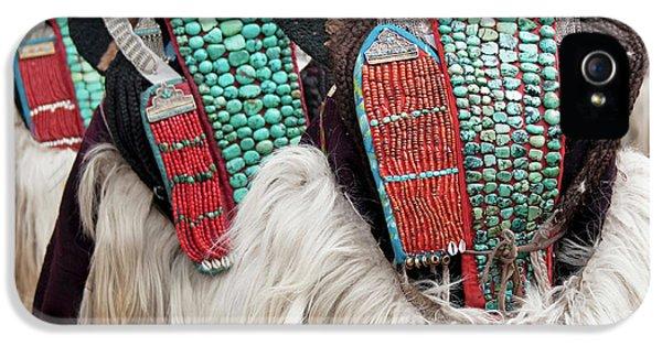 Ladakh, India Married Ladakhi Women IPhone 5 Case by Jaina Mishra