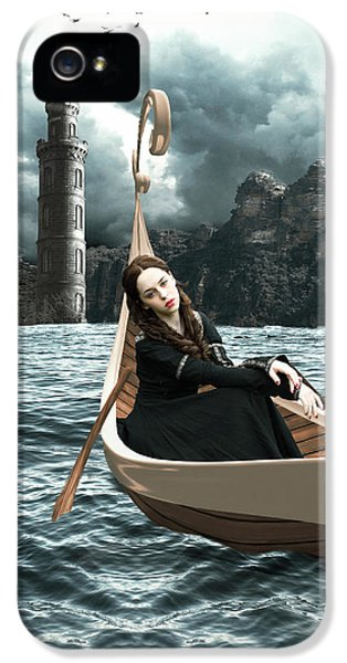 Lady Of Llyn-y-fan Fach IPhone 5 Case