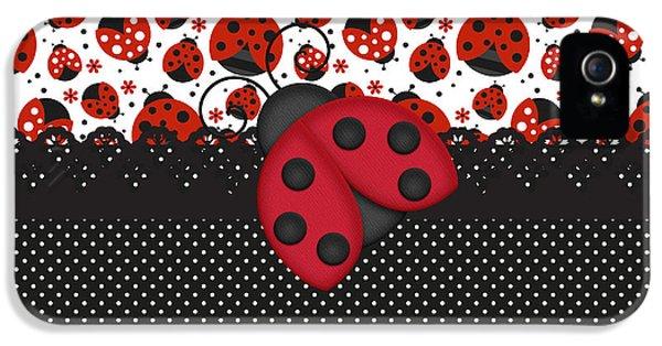 Ladybug Mood  IPhone 5 / 5s Case by Debra  Miller