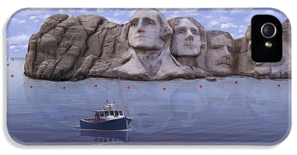 Lake Rushmore IPhone 5 / 5s Case by Mike McGlothlen