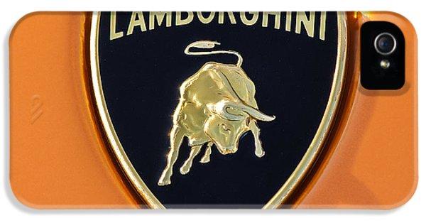 Lamborghini Emblem -0525c55 IPhone 5 Case