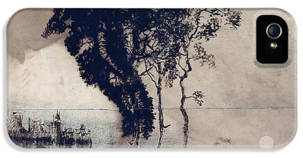 Landscape With Three Trees IPhone 5 Case