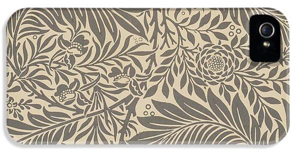 Larkspur Wallpaper Design IPhone 5 Case by William Morris