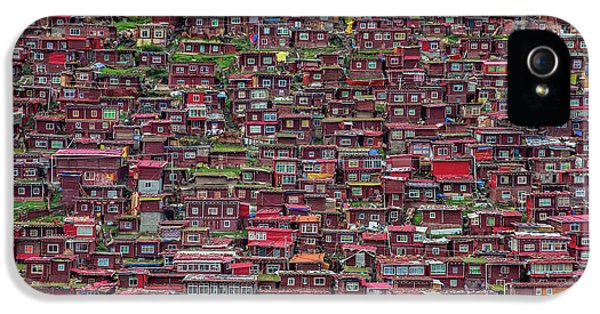 Town iPhone 5 Case - Larung Gar by Tianyu
