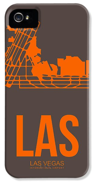 Las Las Vegas Airport Poster 1 IPhone 5 Case by Naxart Studio