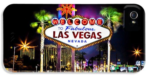 Las Vegas Sign IPhone 5 Case