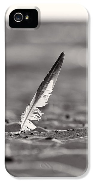 Last Days Of Summer In Black And White IPhone 5 Case by Sebastian Musial