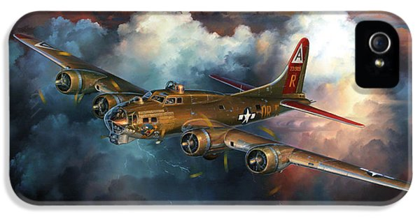 Last Flight For Nine-o-nine IPhone 5 / 5s Case by Randy Green