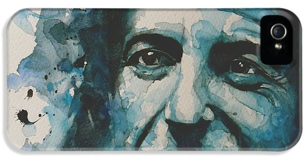Legends iPhone 5 Case - Last Year's Man by Paul Lovering