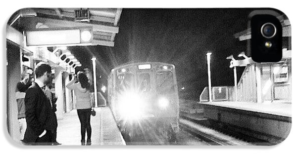 Late Night On The Red Line IPhone 5 Case