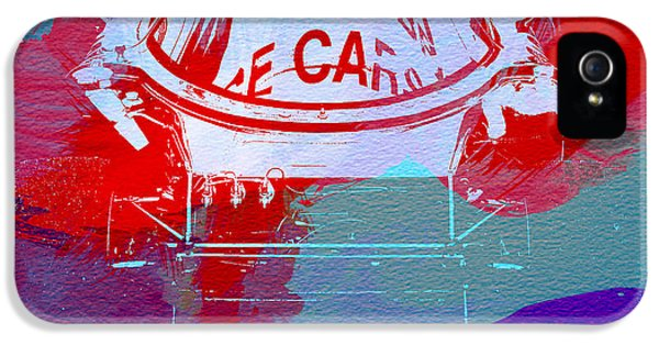 Le Mans Racer During Pit Stop IPhone 5 Case by Naxart Studio