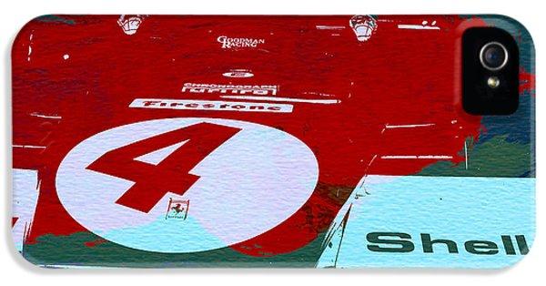Le Mans Racing Car Detail IPhone 5 Case by Naxart Studio