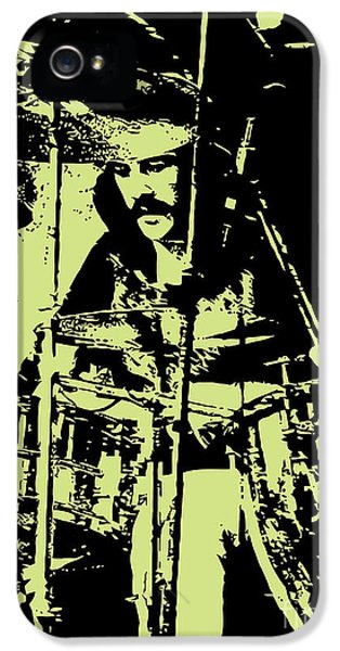 Drum iPhone 5 Case - Led Zeppelin No.05 by Geek N Rock