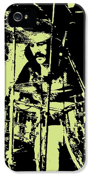 Led Zeppelin No.05 IPhone 5 Case by Caio Caldas