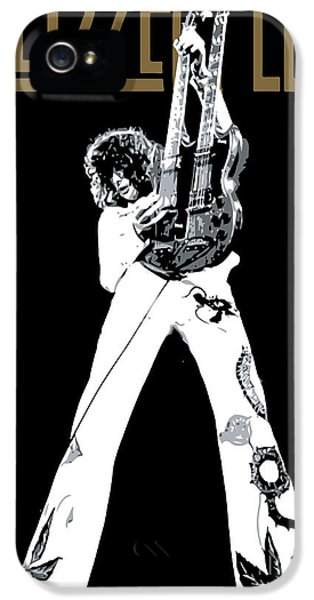 Led Zeppelin No.06 IPhone 5 Case by Caio Caldas