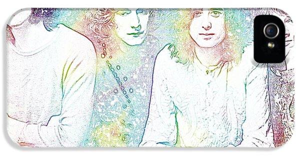Led Zeppelin Tie Dye IPhone 5 / 5s Case by Dan Sproul