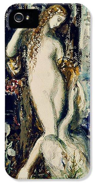 Leda  IPhone 5 Case by Gustave Moreau