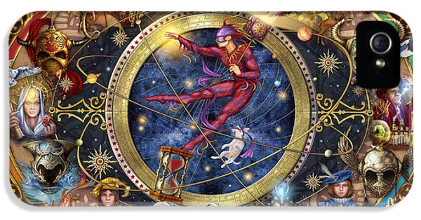 Legacy Of The Divine Tarot IPhone 5 Case by Ciro Marchetti