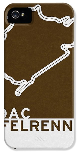 Legendary Races - 1927 Eifelrennen IPhone 5 Case by Chungkong Art